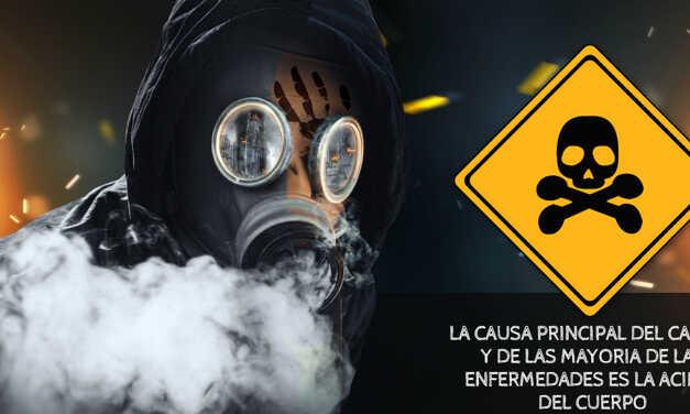 LA CAUSA PRINCIPAL DEL CANCER Y DE LAS MAYORIA DE LAS ENFERMEDADES ES LA ACIDEZ DEL CUERPO